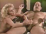 Blonde Babe Gets Cunnilingus After Giving A Handjob