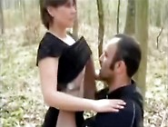 Desirous Married Couple Make A Risky Sex Fun Outdoor In A Public