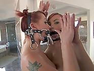 Bdsm Solo Scene With Katja Kassin,  Wearing Fishnet Pantyhose