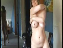 Mature Wife Strips Masturbates