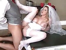 Breathtaking Bride Kayla Paige Acquires Her Taut Wet Pussy Stuff