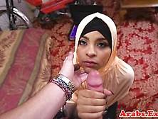 Cocksucking Hijabi Riding Dick Reversecowgirl