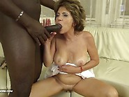 Old Pussy And Ass Fuck With Big Cock Black Man