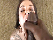 Buxom Brunette With Tattooed Shoulder Chayse Evans Is Poked Mish