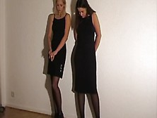 Linda And Sophie Caned
