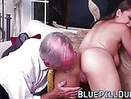 Natural Tits Teen Gets Pussy Banged By Old Dick Gentlemen