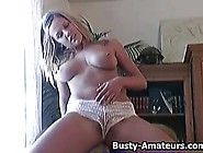 Busty Lisa Neils Playing Her Pussy With Her Fingers