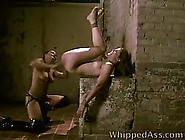 Kinky Lady Likes To Play With Her Asian Sex Slave And To Force H