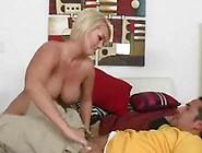 Blonde Big-Titted Mrs.  Julies