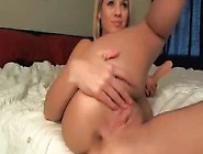 Big Ass Taking Dildo In Juicy Pussy