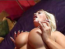 Stunning Blonde Slut With Huge Fake Tits Enjoying A Hardcore Ana
