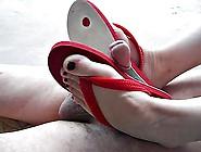 Footjob Flip Flops Sandals