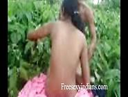 Desi Village Couple Outdoor Romance In Jungle