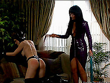Lesbian Sex Slave With Huge Tits Being Tortured And Dildo Fucked