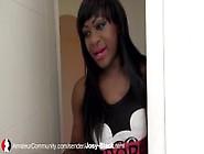 Josy-Black: Sexy Black Babe Give Amazing Blowjob