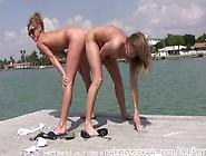 Hot Slutty College Girls Getting Naked In Public Around Treasure