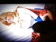 Cum Tribute To Power Girl Cosplayer (Request From Malarion)