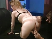 Beautiful Blonde Gets Her Pretty Pink Pussy Spread By Paul'S Dic