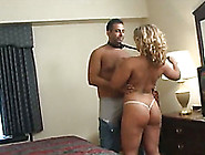 Gorgeous Latina Milf Strips Seductively Before Giving Head