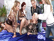Glam Domination Adel Sunshine,  Vanessa Hell,  Angel Piaff,  Nathal