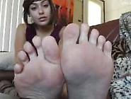 Anais Jolie-Jerk Off To My Stinky Feet-Hd