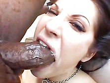 Extraordinary Dark Brown Face Hole Destruction By Dark Dicks
