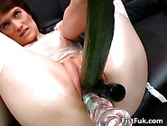 Horny Slut With Gaping Pussy Stuffs By Realestate12