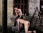 Outside Boy Bondage Gay First Time His Meatpipe Is Caged And