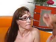Mature Woman With Glasses And Long Hair,  Alexandra Silk Got Her