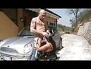Italian Mature Rough Anal Fucked Hard At Outdoor