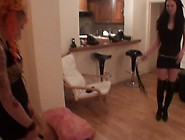 Brutal Whipping And Caning By Two Dommes,  Part 2