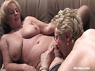 Two Horny Mature German Ladies Exploring Each Other's Wet P