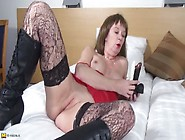 Mom Fucks Her Dildos And Gets Super Wet