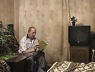 Russian Grandfather And Granddau 2