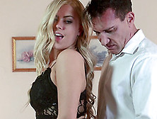 Impeccable Blonde Provides Her Buddy With An Unforgettable Treat