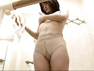 Japanese Gal Undressed To Get Into Her Leotards Caught On C