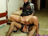 Babe Fucks A Sissy Who Is Dressed As A Woman