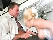 Blonde Bride Getting Fucked