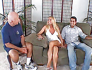 Blonde Wife Gets Her Anal Thrilled Hardcore As Hubby Looks On In