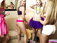 Party Girls Gets Their Pussies Pounded Hard By Random Guys