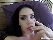 Busty Babe Alison Tyler Records Herself Masturbating
