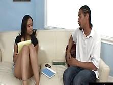 Jaslin Diaz Is A Lovely Black Teen Babysitter That Earn