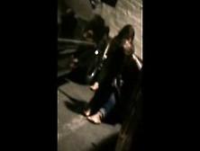 Drunk College Girls Peein Get Caught Voyeur