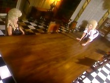 Victorian Lesbians In Lingerie
