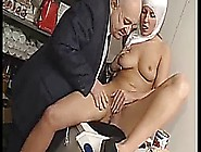 Italian Latina Nun In Uniform Fuck By Dirty Old Man