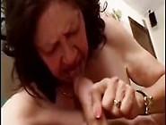Ugly Granny Think Having Sucking & Riding Skills But She's