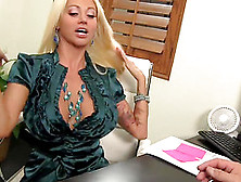 Bossy Bitch Blond Nikita Von James