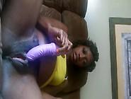 Pregnant Ebony And Dildo