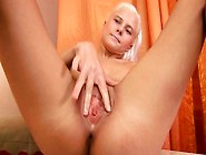 Aroused,  Katya Stimulates Her G-Spot With 2 Fingers By