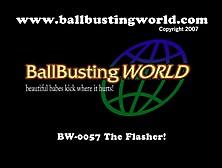 Nylon Feet Ballbusting Outdoor Fav